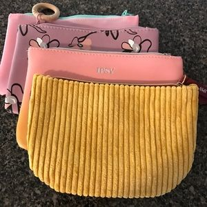 Lot of (4) Ipsy Glam Cosmetics gift bags